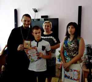 награждение Н.Гусева