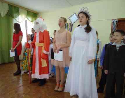 выступление ребят из Воскресной школы