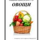 Тетрадь развивающих заданий ОВОЩИ - копия