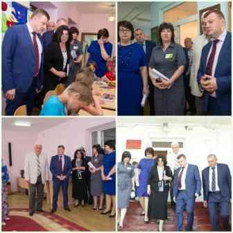посещение центра губернатором. Фото Ю.Бардаковой