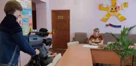 во время интервью